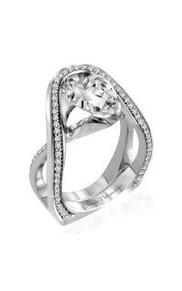 Claude Thibaudeau Avant-Garde Engagement Ring PLT-10011-MP product image