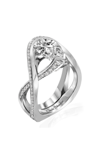 Claude Thibaudeau Avant-Garde Engagement Ring PLT-10131-MP product image