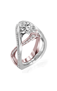 Claude Thibaudeau Avant-Garde Engagement Ring PLT-10131R-MP product image