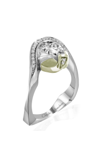 Claude Thibaudeau Avant-Garde Engagement Ring PLT-1962V-MP product image