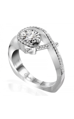 Claude Thibaudeau Pure Perfection Engagement Ring PLT-10009-MP product image