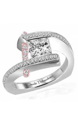 Claude Thibaudeau Pure Perfection Engagement ring PLT-10023R-MP product image