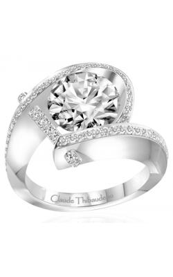 Claude Thibaudeau Pure Perfection Engagement Ring PLT-1831-MP product image