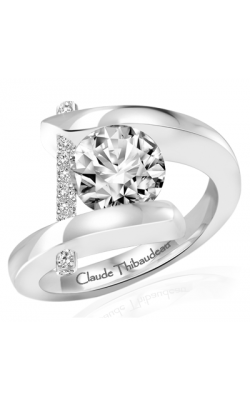 Claude Thibaudeau Pure Perfection Engagement Ring PLT-10000-MP product image