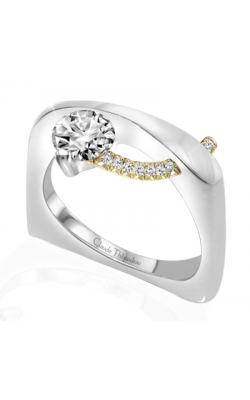 Claude Thibaudeau Pure Perfection Engagement Ring PLT-1862-MP product image