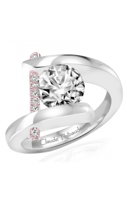 Claude Thibaudeau Pure Perfection Engagement ring PLT-165R-MP product image
