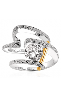 Claude Thibaudeau Pure Perfection Engagement ring PLT-13-SE product image
