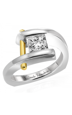 Claude Thibaudeau Pure Perfection Engagement Ring PLT-1754 product image