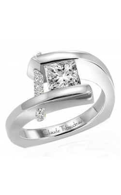 Claude Thibaudeau Pure Perfection Engagement Ring PLT-1754-MP product image