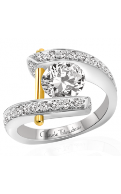 Claude Thibaudeau Pure Perfection Engagement ring PLT-1786-MP product image