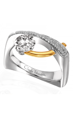 Claude Thibaudeau Pure Perfection Engagement Ring PLT-1821-MP product image