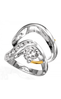 Claude Thibaudeau Pure Perfection Engagement Ring PLT-1250 product image