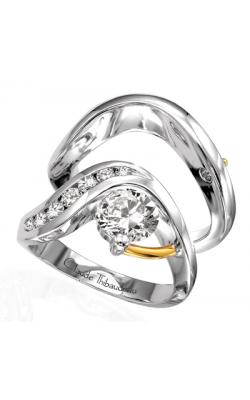 Claude Thibaudeau Pure Perfection Engagement Ring PLT-1250 product image