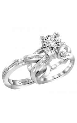 Claude Thibaudeau La Royale Engagement Ring MODPLT-1863-MP product image