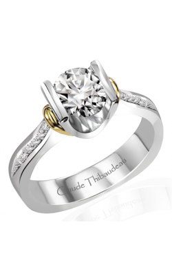 Claude Thibaudeau La Cathedrale Engagement Ring PLT-1322-MP product image