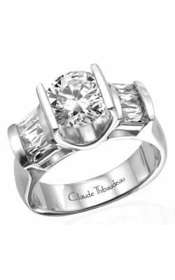 Claude Thibaudeau La Cathedrale Engagement ring PLT-1559 product image