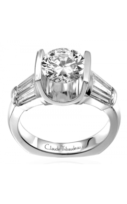 Claude Thibaudeau La Cathedrale Engagement Ring PLT-1458 product image