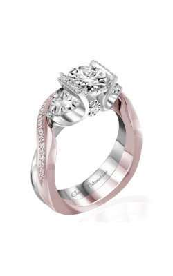Claude Thibaudeau La Trinite Engagement Ring PLT-10046-MP product image