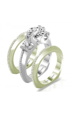 Claude Thibaudeau La Trinite Engagement Ring PLT-10024-MP product image
