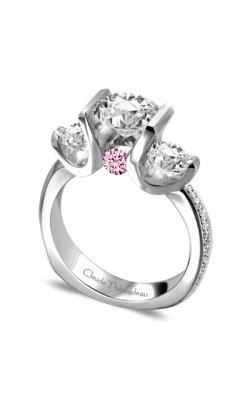 Claude Thibaudeau La Trinite Engagement Ring PLT-1646-MP-PD product image