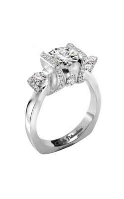 Claude Thibaudeau La Trinite Engagement Ring PLT-1899-MP product image