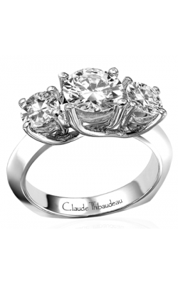 Claude Thibaudeau La Trinite Engagement Ring PLT-1565 product image