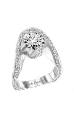 Claude Thibaudeau Avant-Garde Engagement ring PLT-1909-MP product image