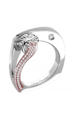 Claude Thibaudeau Avant-Garde Engagement ring PLT-1752R-MP product image