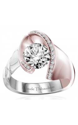 Claude Thibaudeau Avant-Garde Engagement Ring PLT-70043RW-MP product image