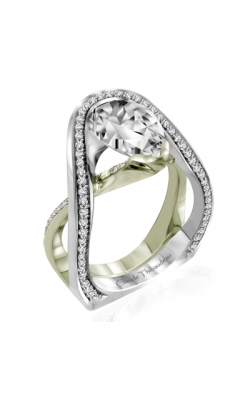 Claude Thibaudeau Avant-Garde Engagement Ring PLT-10011V-MP product image