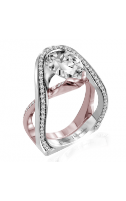 Claude Thibaudeau Avant-Garde Engagement Ring PLT-10011R-MP product image