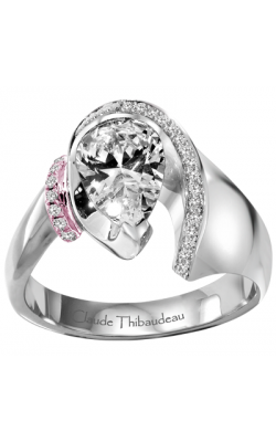 Claude Thibaudeau Avant-Garde Engagement Ring PLT-1430R-MP product image