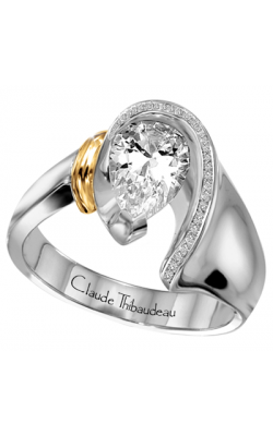 Claude Thibaudeau Avant-Garde Engagement Ring PLT-1430-MP product image