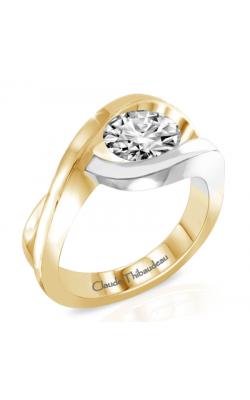 Claude Thibaudeau Avant-Garde Engagement Ring PLT-263 product image