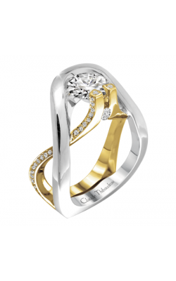 Claude Thibaudeau Avant-Garde Engagement Ring PLT-1884Y-MP product image