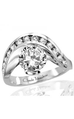 Claude Thibaudeau Avant-Garde Engagement Ring PLT-1159 product image