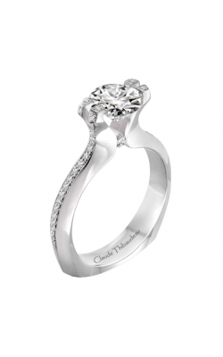 Claude Thibaudeau Simplicite Engagement Ring PLT-1994-MP product image