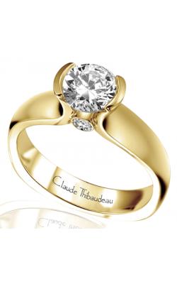 Claude Thibaudeau Simplicite Engagement Ring PLT-2548 product image