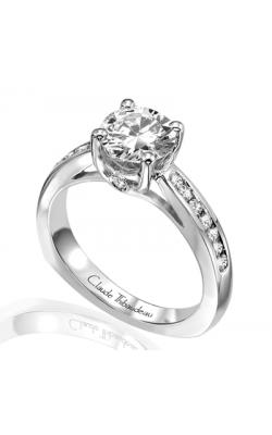 Claude Thibaudeau Simplicite Engagement Ring PLT-1595 product image