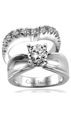 Claude Thibaudeau Simplicite Engagement Ring PLT-1527 product image