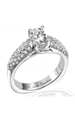 Claude Thibaudeau Simplicite Engagement Ring PLT-1562 product image
