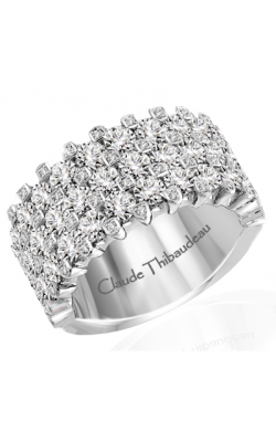 Claude Thibaudeau Designer Anniversary Women's Wedding Band PLT-1948-3 product image