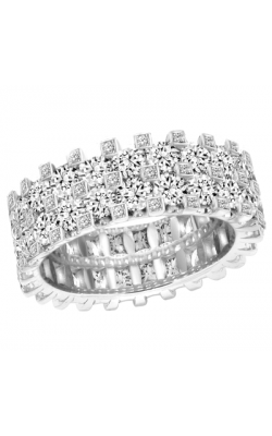 Claude Thibaudeau Designer Anniversary Women's Wedding Band PLT-1907-2 product image