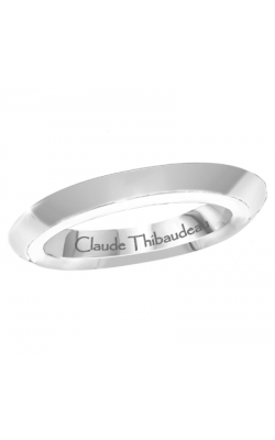 Claude Thibaudeau Designer Anniversary Women's Wedding Band PLT-1907-JSS product image