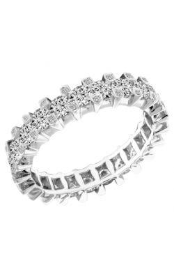 Claude Thibaudeau Designer Anniversary Women's Wedding Band PLT-1907-1 product image