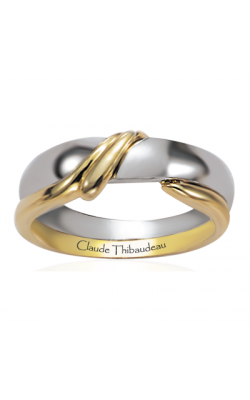 Claude Thibaudeau The Inseparables Men's Wedding Band IF-11-H product image
