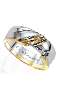 Claude Thibaudeau The Inseparables Men's Wedding Band IF-17-H product image