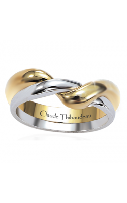 Claude Thibaudeau The Inseparables Men's Wedding Band IF-104-H product image