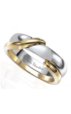 Claude Thibaudeau The Inseparables Men's Wedding Band IF-148-H product image