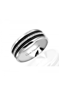 Claude Thibaudeau Black Hevea Wedding band PLT-1566-F product image